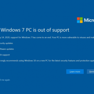Če še vedno uporabljate Microsoft Windows 7, ste neskladni z GDPR!