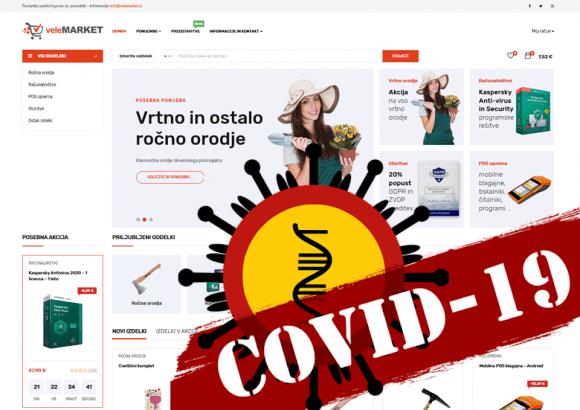 Spletna trgovina – zmagovalec pandemije