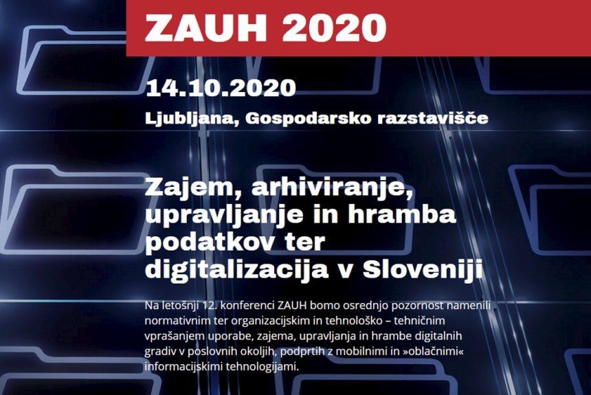 Skupina Infocenter na konferenci ZAUH in DIGITALIZACIJA 2020
